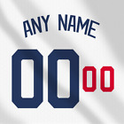 Los Angeles Dodgers Away White MLB jersey Any Name Any Number Pro Lettering Kit