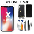 For i Phone X OLED Screen Display 3D Touch Digitizer Assembly Replacement +Tools