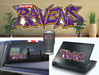 Baltimore Ravens Graffiti Vinyl Vehicle Car Laptop Wall Sticker Decal $5.0 USD on eBay