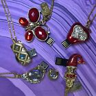 USB flash drive necklace, Multiple designs, red, gold, silver, pink  $6.0  on eBay