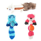 Squeaky Plush Dog Toys Puppy Chew Toys Cartoon Animal Chewing Toys for Dogs
