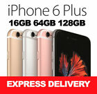 Apple Iphone 6 Plus 16gb 64gb 128gb 4g 100% Unlocked Refurbished