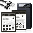 For Cricket Wireless LG Stylo 3 M430 4670mAh Li-ion Battery + Wall Charger Cable