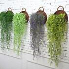 Artificial Fake Hanging Vine Plant Leaves Garland Home Garden Wall Decor DD