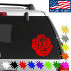 Rose Decal Sticker BUY 2 GET 1 FREE Choose Size & Color