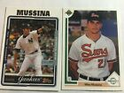 Mike Mussina 1991 Tops Prospect and 2004 Topps. New York Yankees