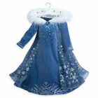 Girls Cosplay 2019 Frozen 2 Princess Fancy Dress Up Costume Party Outfit