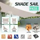 Sun Shade Sail 280GSM/300D Wind Waterproof Outdoor Patio Canopy Block  ❤