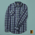 Mens Fleece Lumberjack Check Shirts Warm Button Long Sleeve Medium Large XL XXL  <br/> Thermal Brushed Thermal Checked Winter Work Jacket Top