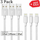 For iPhone/iPad Charging Charger Cord 8 Pin to USB Cable iPhone X/8/7/6s/6/Plus