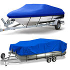 Trailerable Boat Cover Heavy Duty Waterproof UV Resistant Runabout Protector