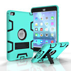 Shockproof Hybrid Case Kids Heavy Duty Stand Cover for iPad 2 3 4 5 6 Mini Air 2