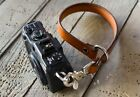 Leather Camera Wrist Strap Handmade in USA Real Strong Leather