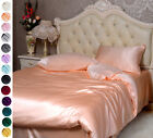 30MM Heavy weight Silk Duvet Covers & Sets Twin Full Queen King Cal king