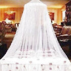 Bed Mosquito Canopy Anti-Insect Fly Round Dome Netting  Mesh Curtain Drape GO9X image