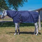 *New* Mark Todd Pro Rain Sheet Combo Show Rug Mac Navy 600 Denier 5'6-7'0