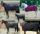 *New Style* Mark Todd COOLEX COOLER RUG Grey/Plum or Navy/Silver 5'6'' - 7'0''
