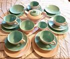 Kyпить Poole Pottery Twin Tone Ice Green Mushroom U PICK! Sugar Bowl, Cup Saucer, Plate на еВаy.соm