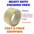 1-108 Rolls Clear Packing Tape Packaging Cartons 2 x 110 Yards (330ft) Box Seal