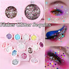 Makeup Laser Eyes Glitter Sequins Eye Shadow Shiny Flakes Face Body Art cute