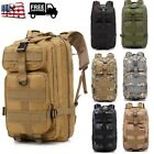 Waterproof Outdoor Tactical Backpack Hiking Travel Rucksack Bag Durable Chic