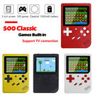 Mini Retro Handheld Box Game Console Built-in 500 Classic Games Boys Funny Gift