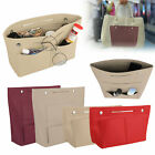 Felt Purse Handbag Organizer Insert Multi pocket Storage Tote Shaper Bag Large image