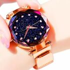 Women Watches 2019 Starry Sky Luxury Fashion Diamond Ladies Magnet Watches
