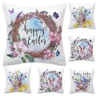 Easter Pillow Cases Dyeing Sofa Bed Home Decor Pillow Cover Cushion Cover