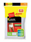 Hanes Men's FreshIQ No Ride Up White Underwear Tagless Briefs 8-Pack 2252p8