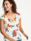 Old Navy Ruffle Trim Top NWT