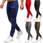 Trainingshose Sporthose Jogginghose Sport Fitness Slim Fit Herren BOLF 6F6 Basic