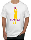 Kobe Bryant T-Shirt - MAMBA Los Angeles Lakers NBA Uniform Jersey #24 #8 on eBay