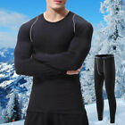 Mens Ultra Unmanly Thermal Underwear Long Johns Shirt Top Pants Bottom Compression