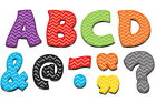 Teacher Created Resources Magnetic Letters, 3 Inches, Fantastic Font, Set of 67