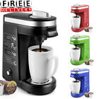 Single Cup Serve Coffee Maker Capsule with 12 Ounce Reservoir Office Machine