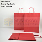 Stronghold Twist Handle Paper Party and Gift Carrier Bag Medium RED