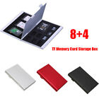 Kyпить Memory Card Storage Box Case Holder with 12 Slots for SD SDHC MMC Micro SD Cards на еВаy.соm