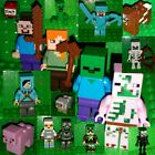 Lego MINECRAFT Mini Figure Steve Alex Creeper TNT Zombie Pig Man **YOU CHOOSE**