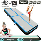 20cm Thick Air track Airtrack Floor Inflatable Gymnastics Tumbling Mat w/pump image