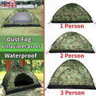 Outdoor Camping Waterproof 4Season Folding Tent Camouflage Hiking 1/2/3-4 Person
