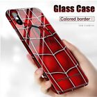 Fashion Luminous Tempered Glass Night Light iPhone Case 6/7/8+ X XR11 pro Max