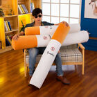 "29.5""-55"" Warning Sign No Smoking Pillow Cigarette Plush Toy Bed Sofa Cushions"