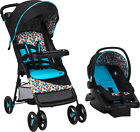 Baby Infant Car Seat Stroller Combo Boys Girl Travel System w Cup Holder Folding