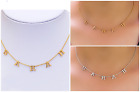 Personalized Sterling Silver Gold Mini Name Necklace Any Name Spaced Letter 2020