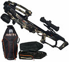 Ravin R010 Predator Crossbow, Predator Camouflage and Ravin Crossbow Case Bundle