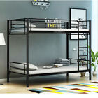 New Single Metal Bunk Bed Frame High Sleeper Twins Bed for Adult Children Kids