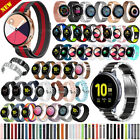 Silicone Leather Stainless Steel Band For Samsung Galaxy Watch Active 2 40/44mm