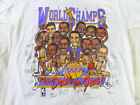 Vintage Los Angeles Lakerss 1987 Caricature Cartoon Reprint Gildan T Shirt D2494 image