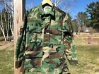 US Army Blouse Coat Cold Weather Woodland Camouflage Combat